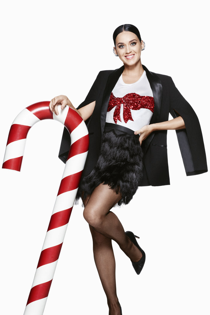 Katy Perry For The H&M 2015 Holiday Campaign