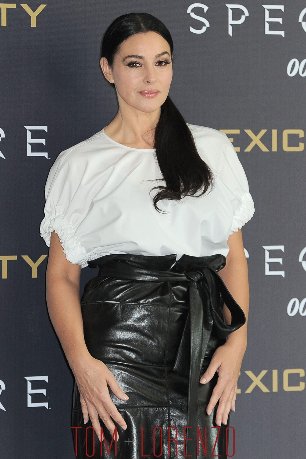 Girl Whut Monica Bellucci In Salvatore Ferragamo At The