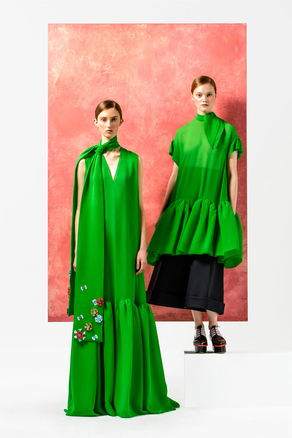 2019 year looks- Pre-fall delpozo collection