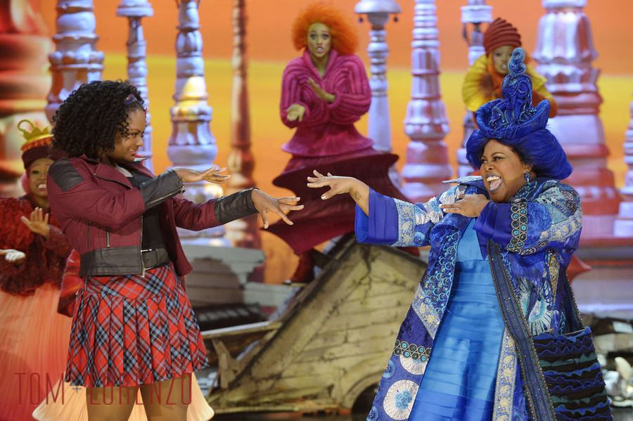THE WIZ LIVE! -- Pictured: (l-r) -- (Photo by: Virginia Sherwood/NBC)