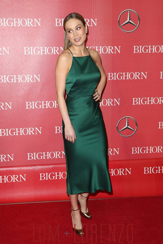 Brie Larson In Jason Wu At The Palm Springs Film Festival