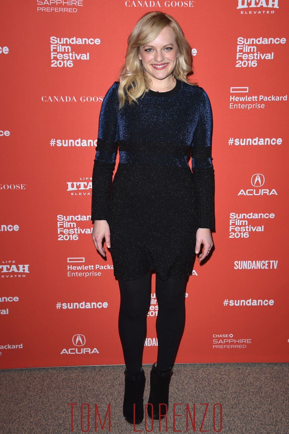 Elisabeth Moss At Quot The Free World Quot Sundance Premiere Tom