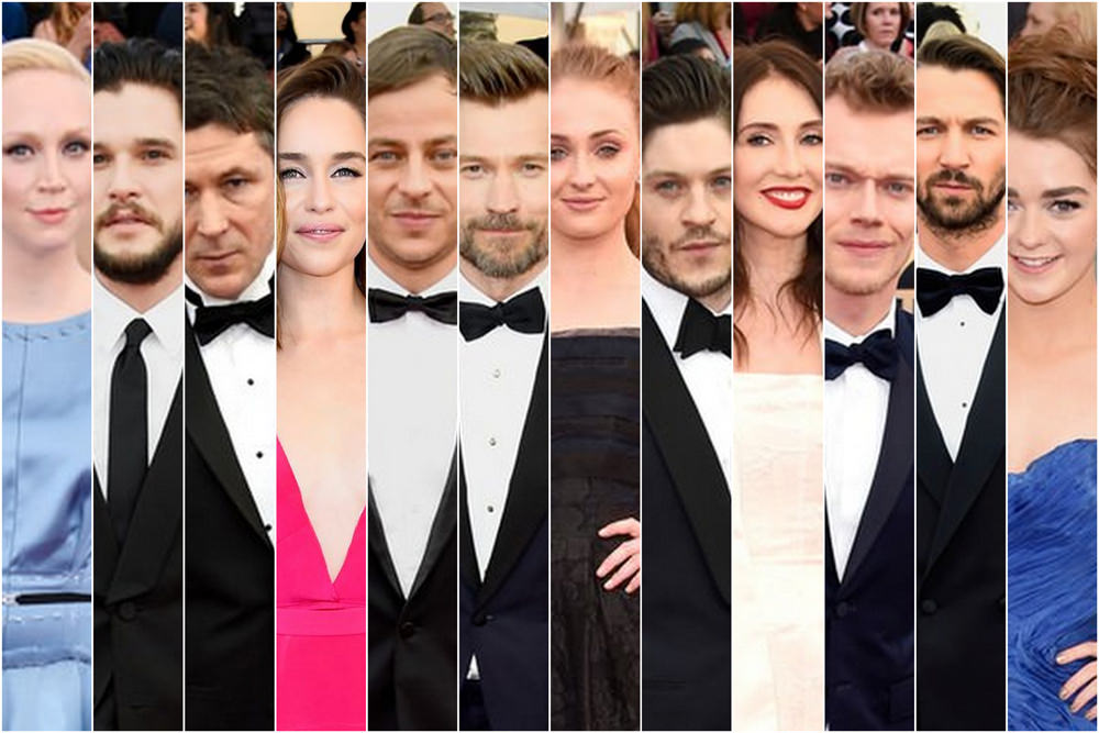Sag Awards 2016 The Cast Of Quot Game Of Thrones Quot Tom Lorenzo