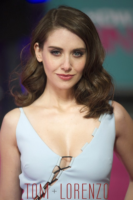 "Alison Brie in David Koma at the ""How to Be Single"" London ..."