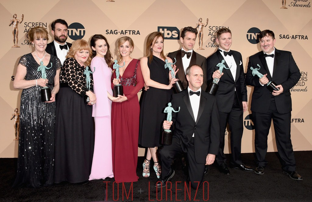 """SAG Awards 2016: The Cast of """"Downton Abbey"""""""