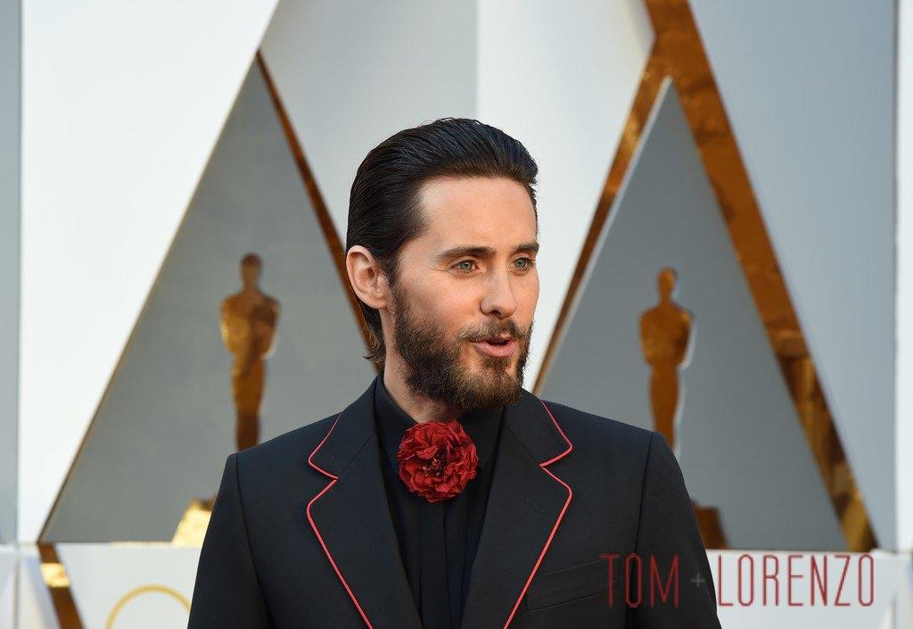 Oscars 2016: Jared Leto in Gucci | Tom + Lorenzo
