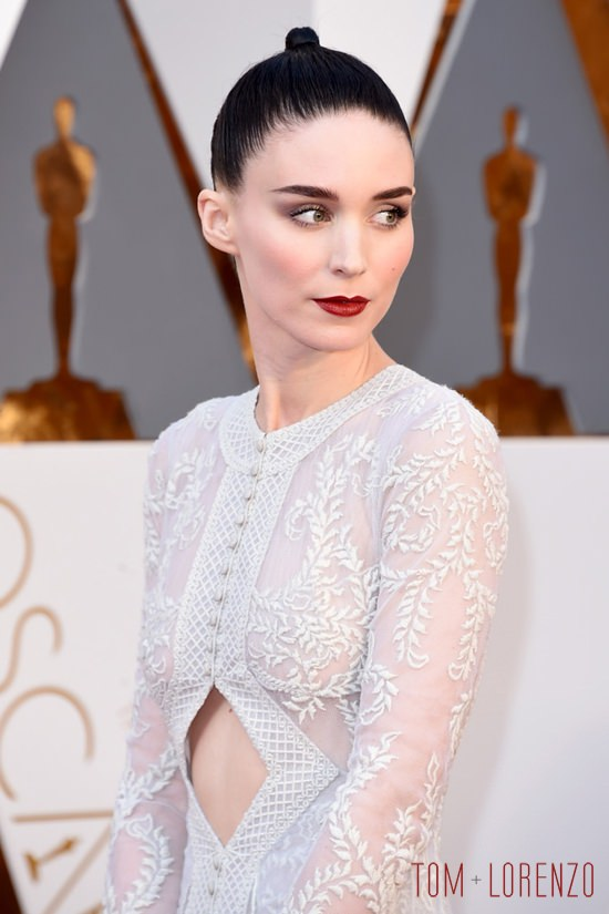 Oscars 2017 fashion - Oscars 2016 Rooney Mara In Givenchy Couture Tom Lorenzo