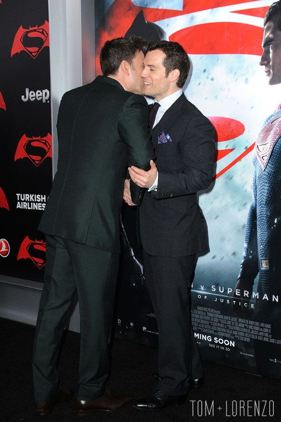 "444a68d3 Ben Affleck and Henry Cavill at the ""Batman v Superman: Dawn Of Justice""  New York Premiere 