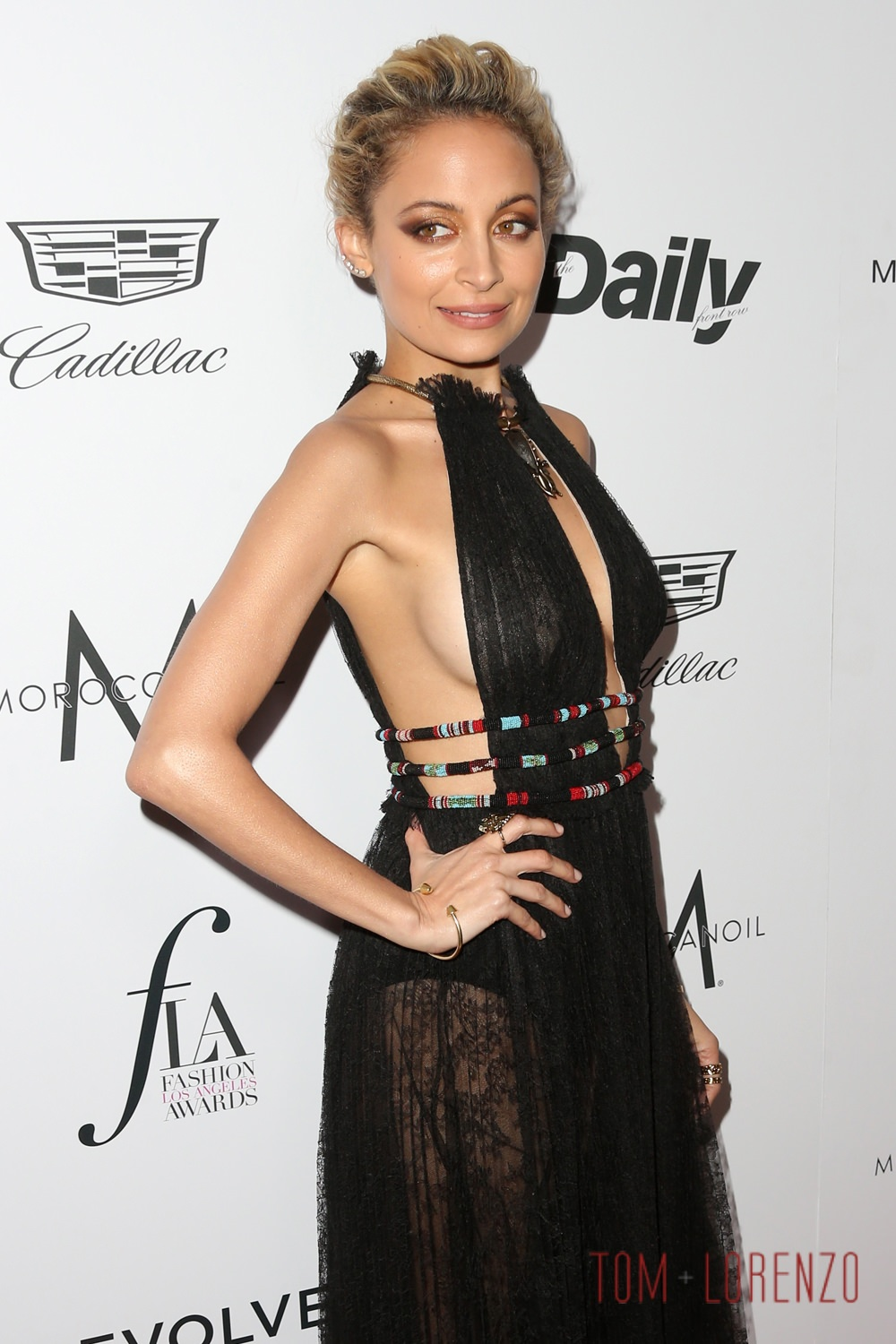 Nicole Richie in Valentino at The Daily Front Row's ...