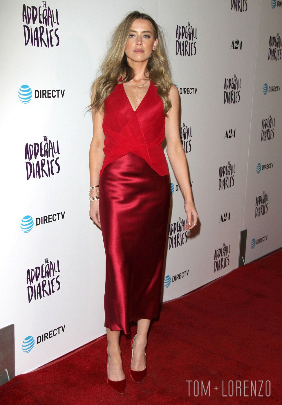 150574, Amber Heard attends the premiere of 'The Adderall Diaries' at Arclight Hollywood. Los Angeles, California. Tuesday April 12th 2016. Photograph: © Pacific Coast News. Los Angeles Office: +1 310.822.0419 UK Office: +44 (0) 20 7421 6000 sales@pacificcoastnews.com FEE MUST BE AGREED PRIOR TO USAGE
