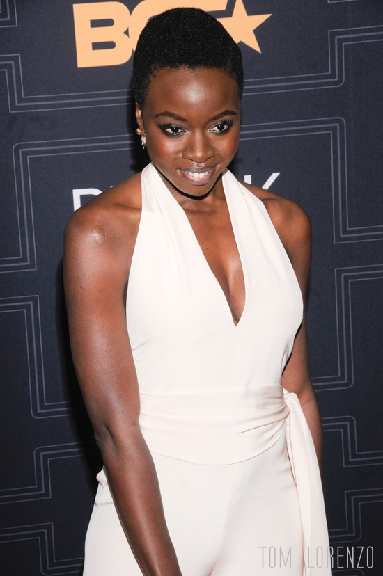 Danai Gurira In Cushnie Et Ochs At The 2016 Black Girls
