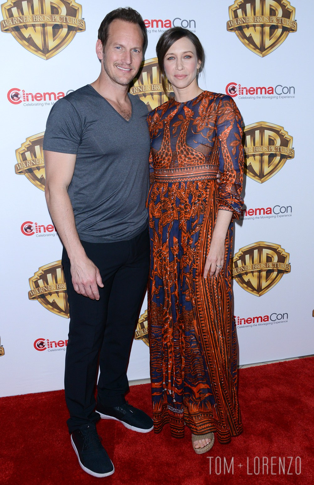 52022106 Celebrities attend the Warner Bros. presentation held at the Caesars Palace in Las Vegas, Nevada on April 12, 2016. Celebrities attend the Warner Bros. presentation held at the Caesars Palace in Las Vegas, Nevada on April 12, 2016. Pictured: Vera Farmiga, Patrick Wilson FameFlynet, Inc - Beverly Hills, CA, USA - +1 (310) 505-9876 RESTRICTIONS APPLY: NO FRANCE