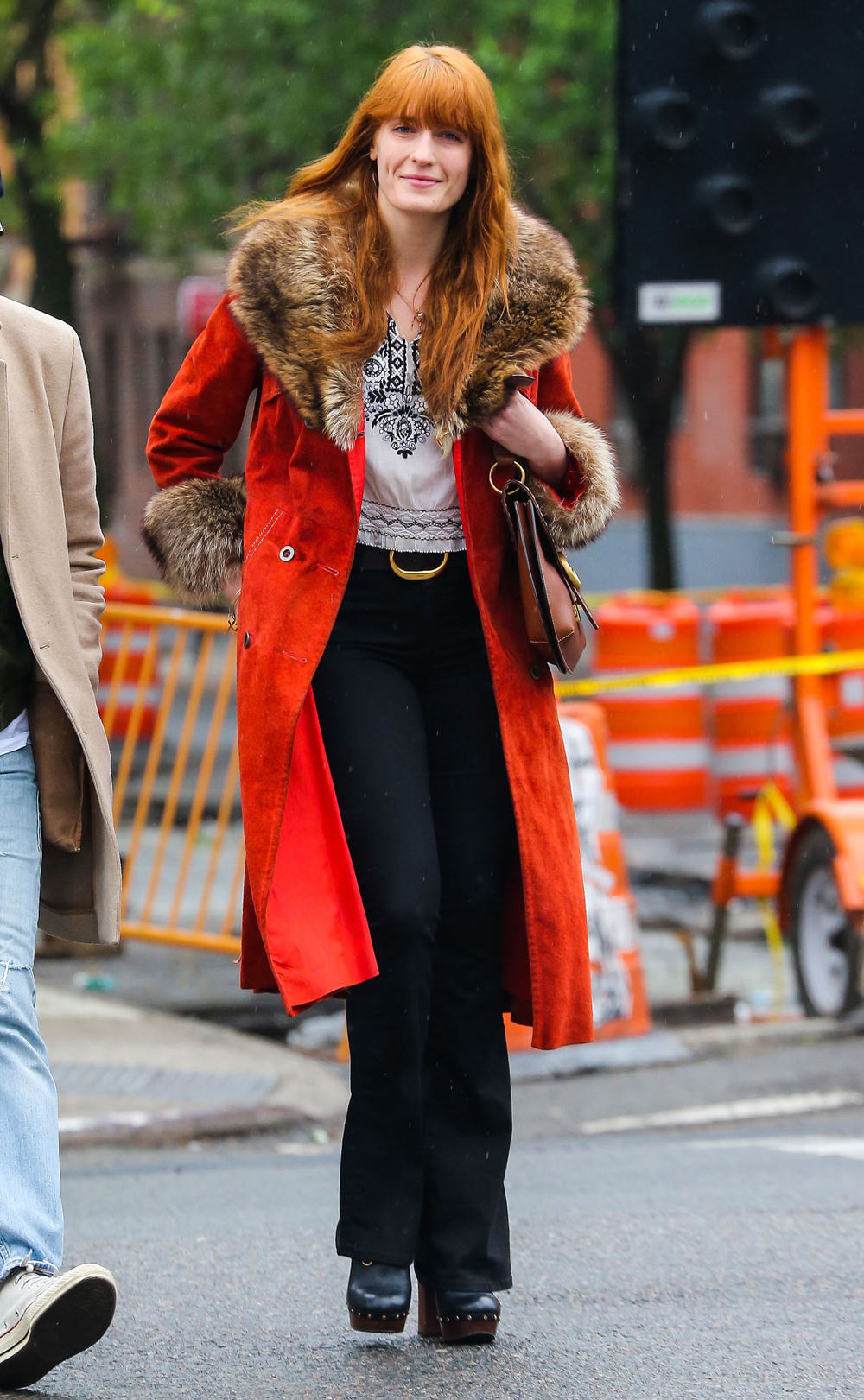 Florence Welch Out And About In Nyc Tom Lorenzo