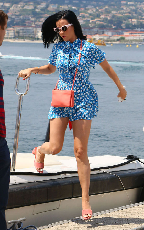 Katy Perry In Valentino In Cannes Tom Lorenzo