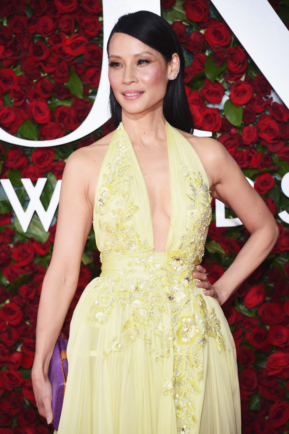Tony Awards 2016 Lucy Liu In Zuhair Murad Couture Tom