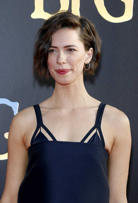 Girl Whut Rebecca Hall In Dion Lee At Quot The Bfg Quot Premiere