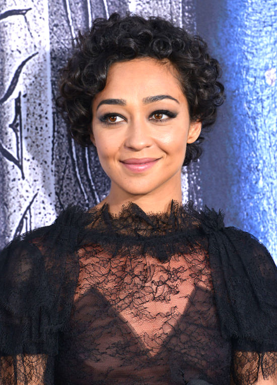 "Ruth Negga in Rodarte at the ""Warcraft"" LA Premiere"