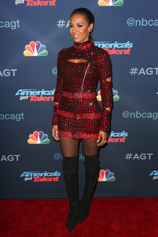 Mel B In Di Count Universe At The Quot America S Got Talent