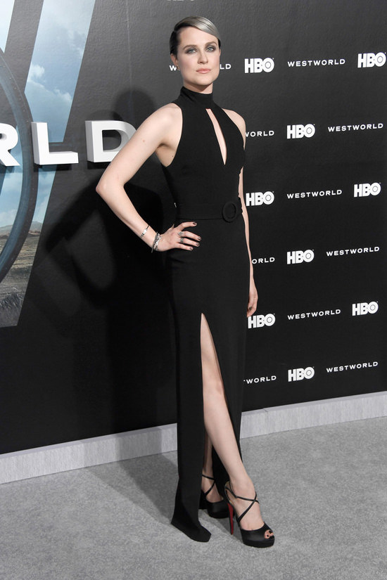 Evan Rachel Wood In Cinq 224 Sept At Hbo S Quot Westworld