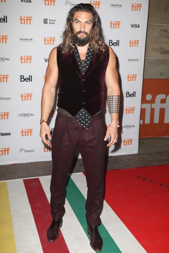 Jason Momoa At The 2016 Toronto International Film