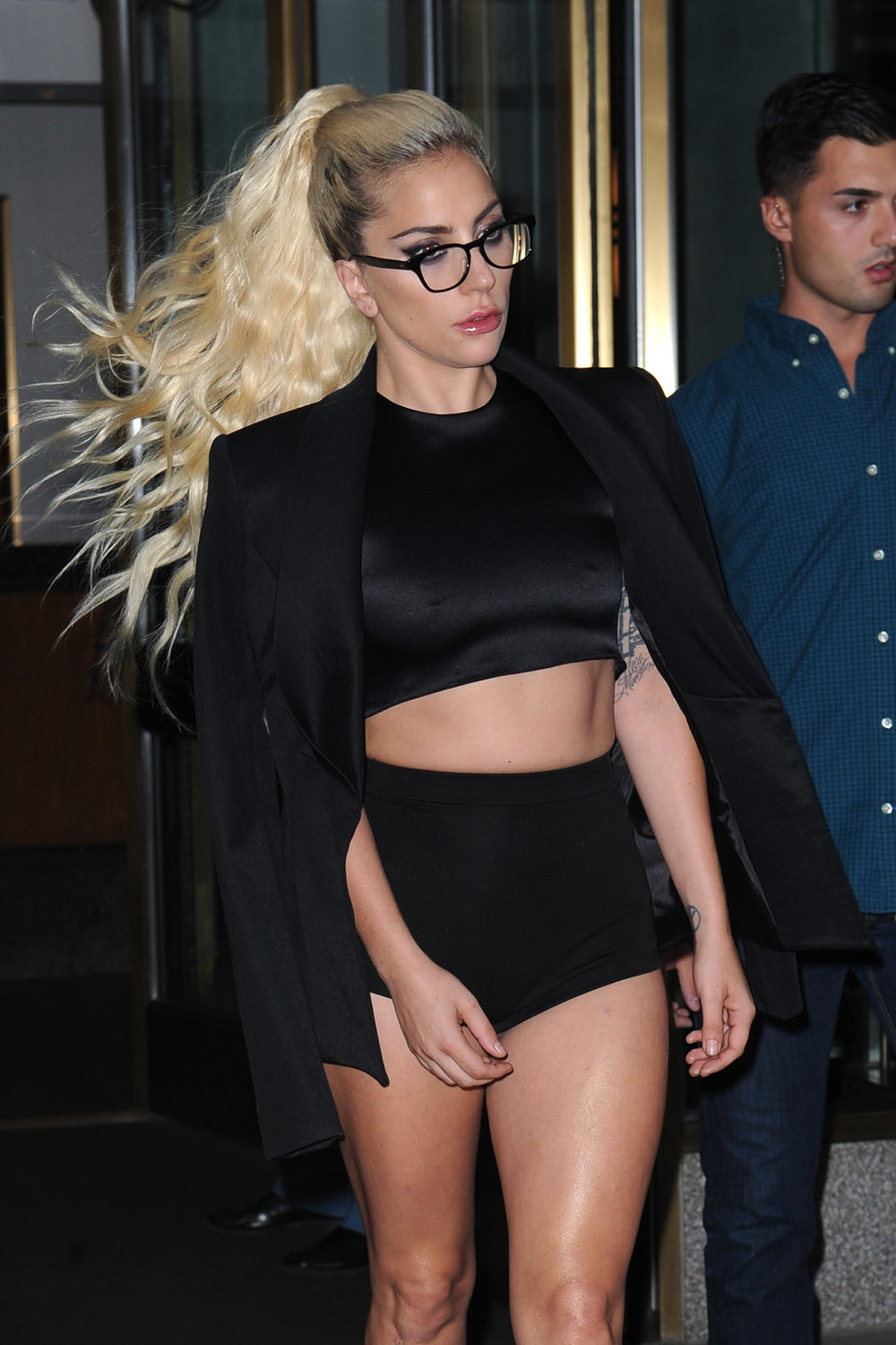 Lady Gaga Out and About in NYC