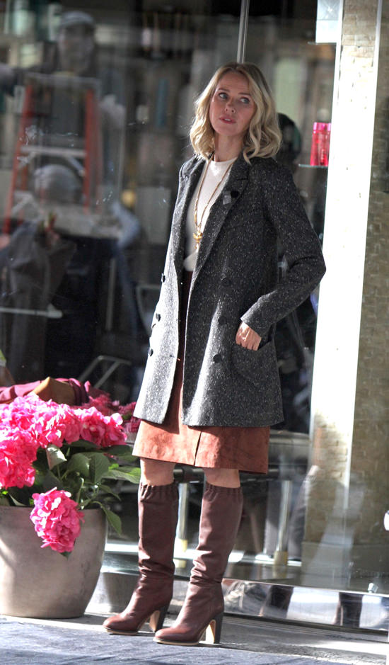 Naomi Watts On The Set Of Quot Gypsy Quot Tom Lorenzo