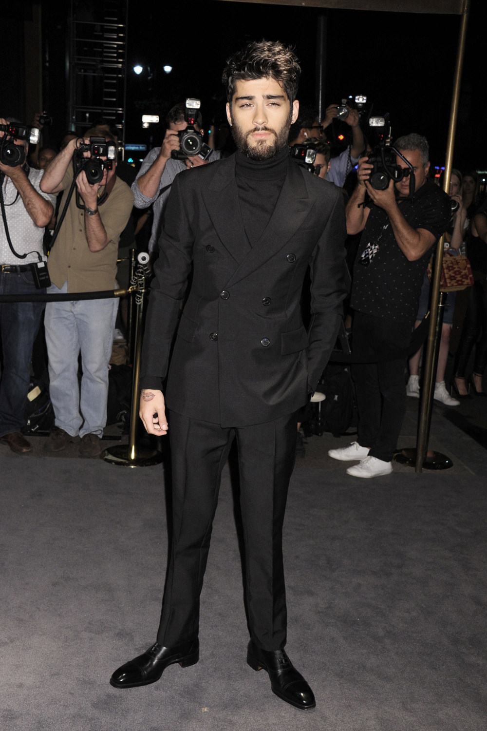 Zayn Malik at the Tom Ford Spring 2017 Fashion Show | Tom ...