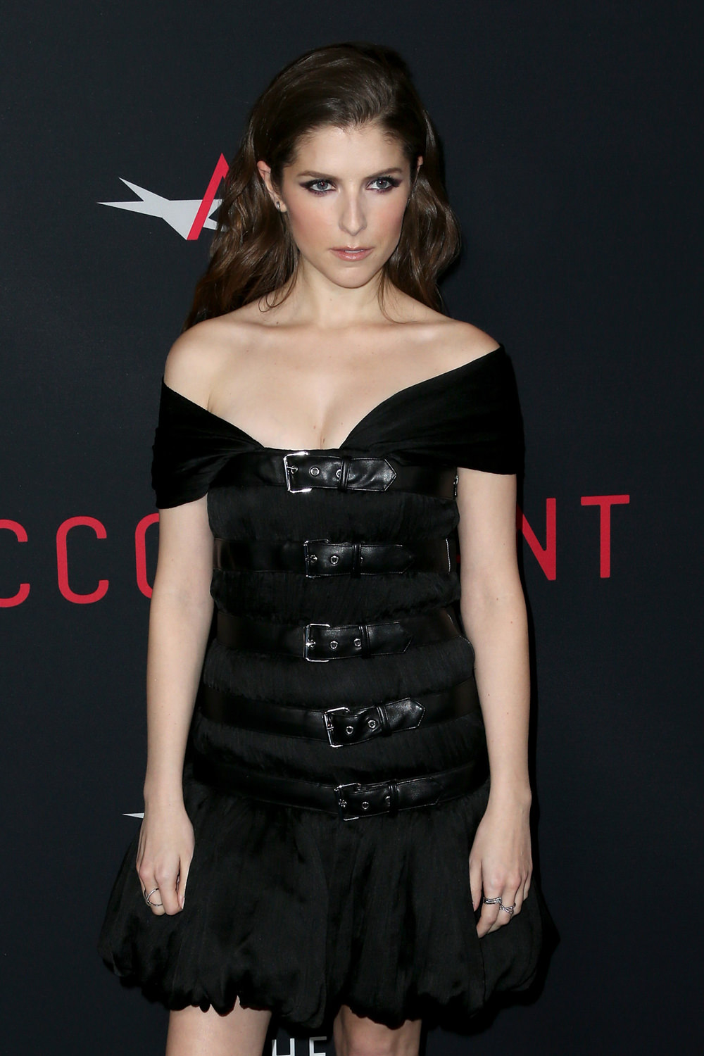 "IN or OUT: Anna Kendrick in Moschino at ""The Accountant ..."