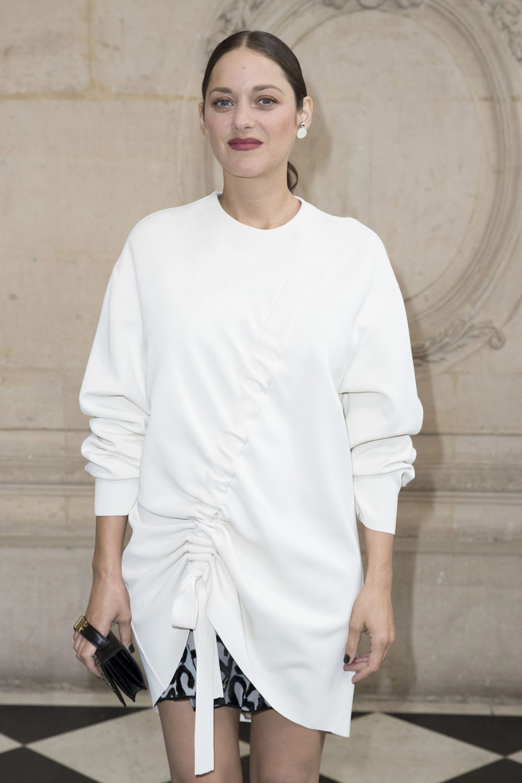 Christian Dior Fashion Week Marion Cotillard