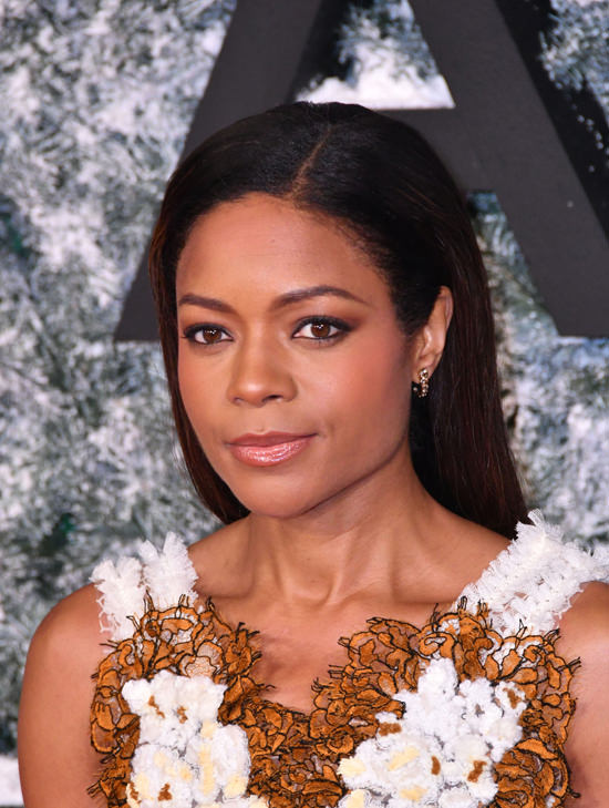 Naomie Harris attends the 'Collateral Beauty' European film premiere