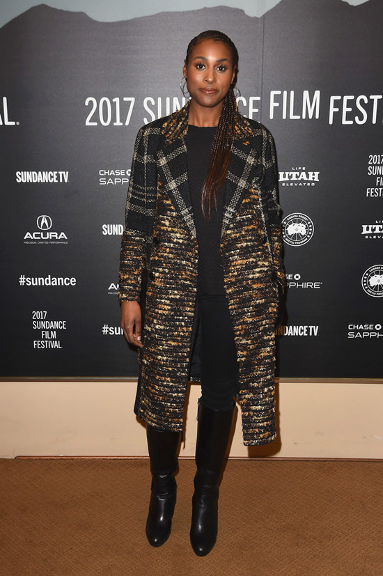 Did Issa Rae Win The Celebrity Coat Porn Contest At -2360