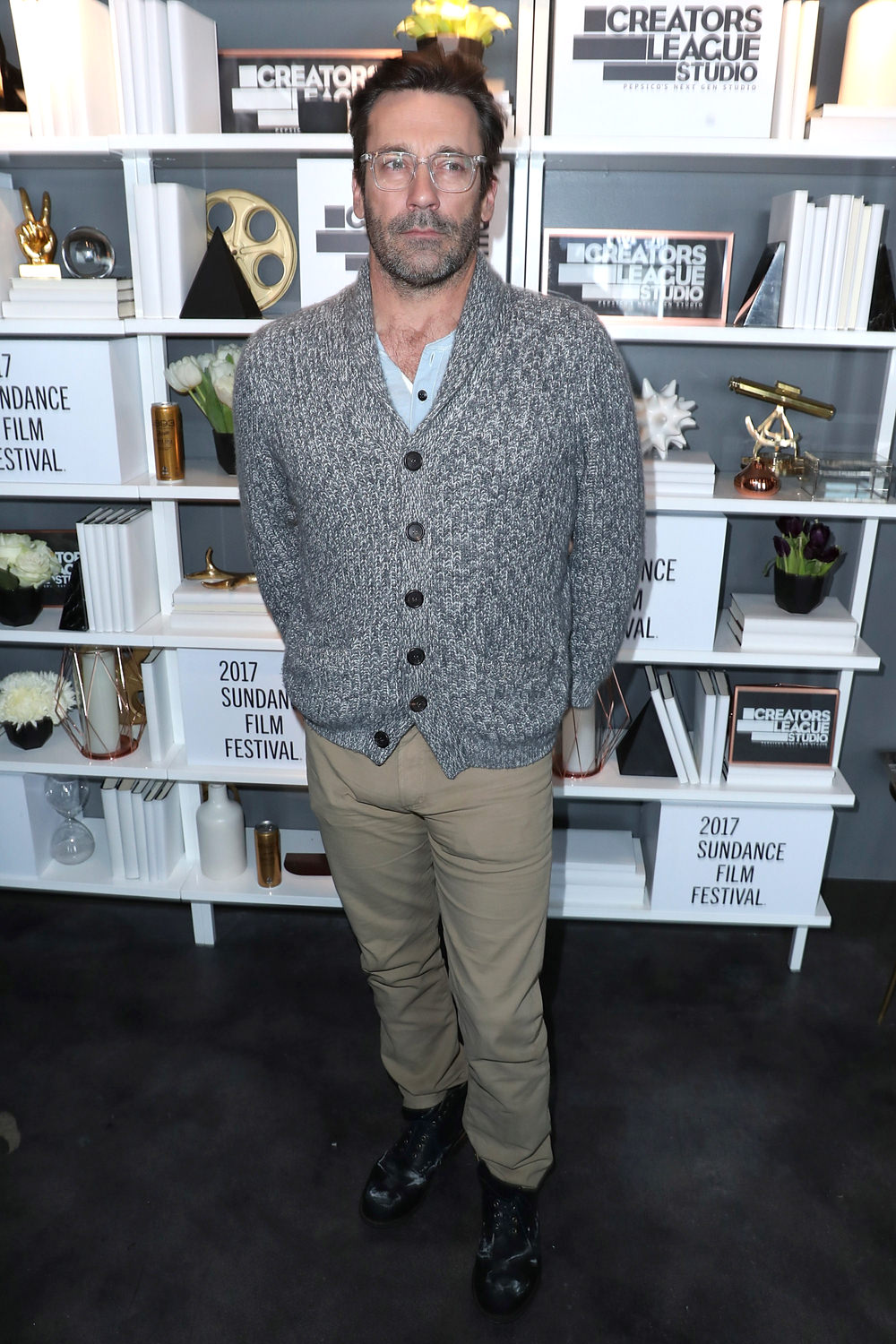 Jon Hamm is at the Sundance Film Festival, Ready to Cuddle : Tom + Lorenzo