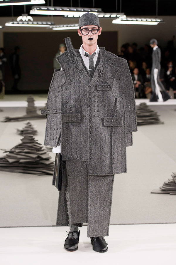 Thom Browne Fall 2017 Menswear Collection | Tom + Lorenzo