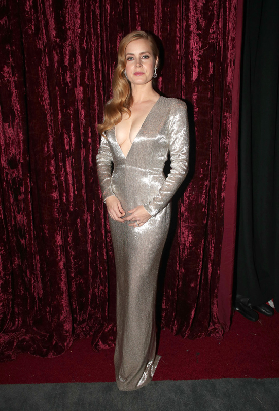 Oscars 2017 Amy Adams And Her F You Dress Tom Lorenzo