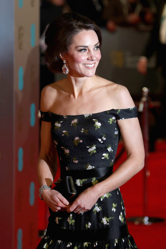 Bill And Cathy Cambridge Hit The Red Carpet At EE