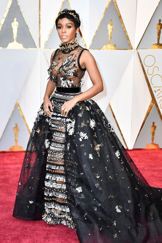 Image result for janelle monae oscars 2017