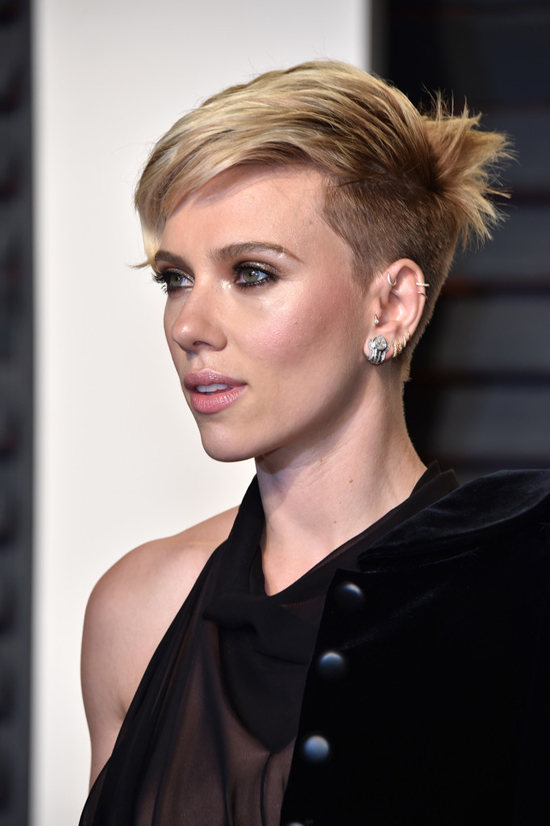 Scarlett johansson short hair 2018