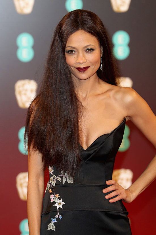 Style File Thandie Newton Makes The Rounds In Chanel