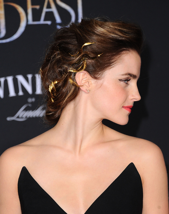 "Emma Watson is a Princess in Pants at the ""Beauty and the ..."