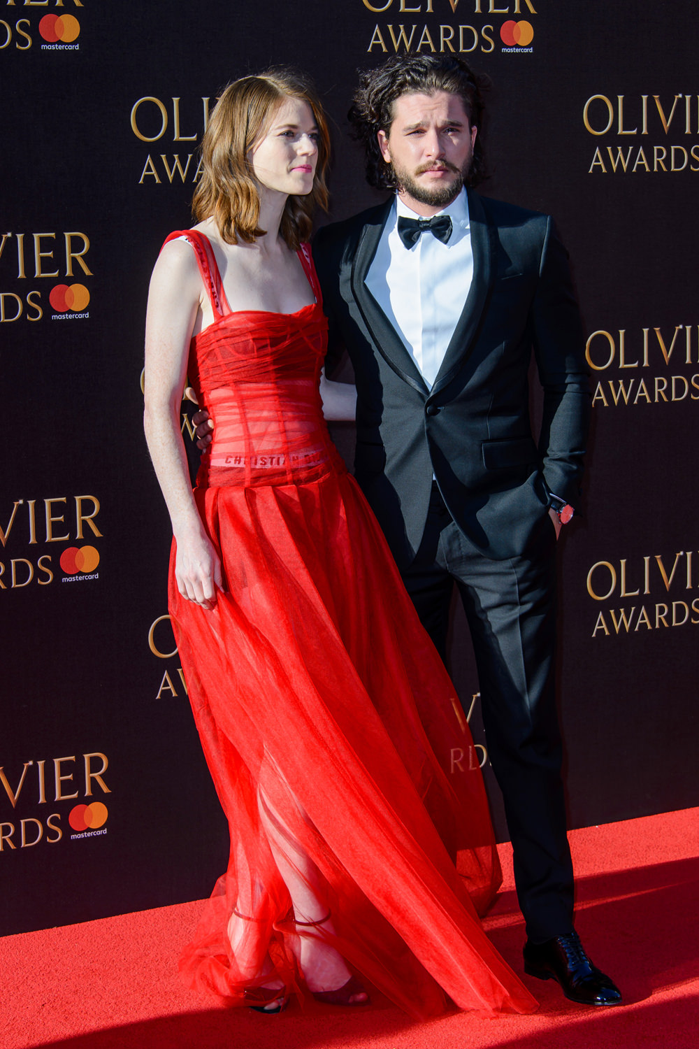 Rose Leslie And Kit Harington Do Their Best Not To Smile