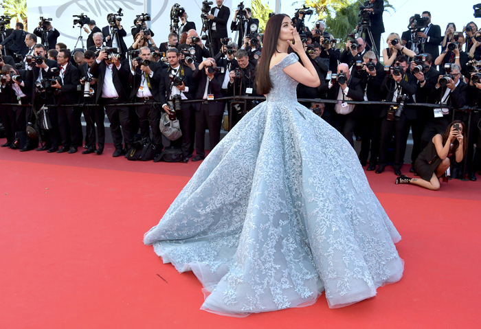 Cannes 2017 WERQ: Aishwarya Rai Bachchan Unleashes the Full Cinderella | Tom + Lorenzo