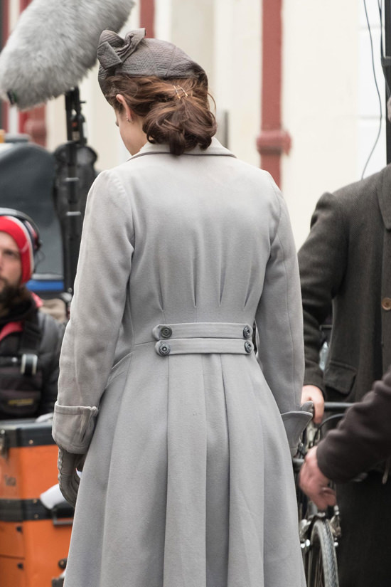 Lily James And Michiel Huisman On The Set Of Quot Guernsey