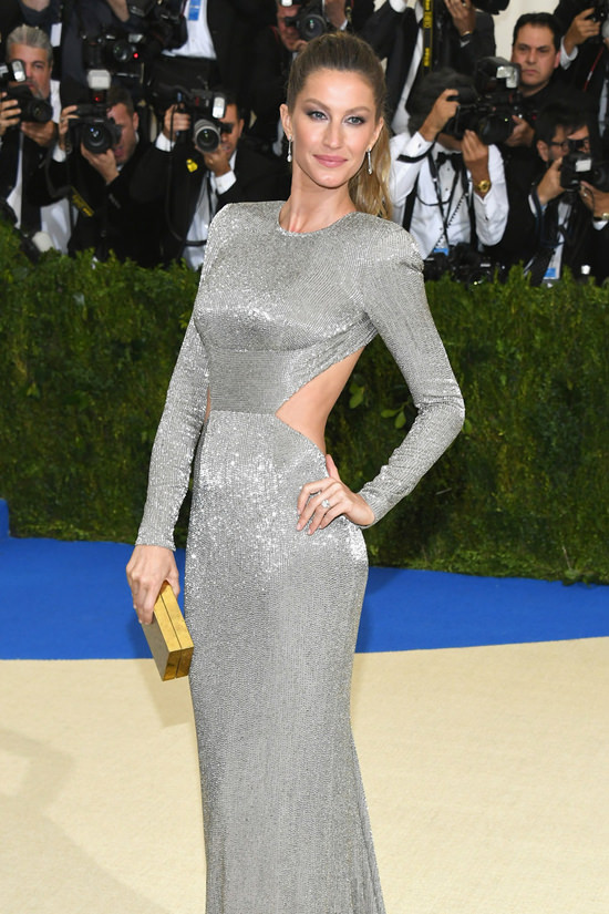 Oscars 2017 fashion - Met Gala 2017 Gisele B 252 Ndchen And Tom Brady Shimmer