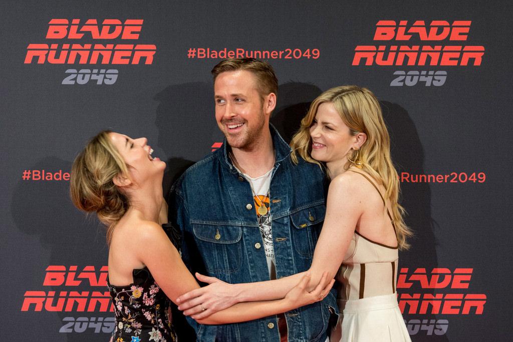 """74299af663 """"Blade Runner 2049"""" Co-Stars Ryan Gosling"""