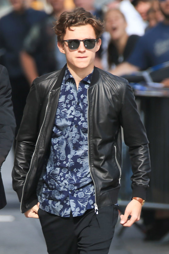 Tom Holland Fashion Style