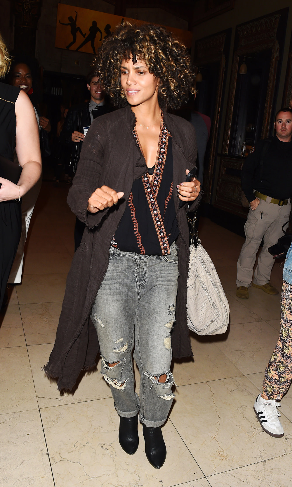 Halle Berry Goes Funky Boho For The 39 Hamilton 39 Opening