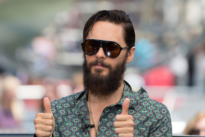 877f8af10e Jared Leto Clowns it Up in Gucci on