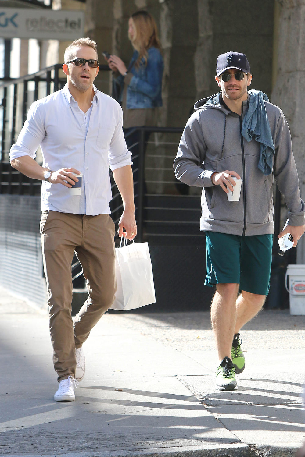 Ryan Reynolds and Jake Gyllenhaal Are Stopping for Coffee ...