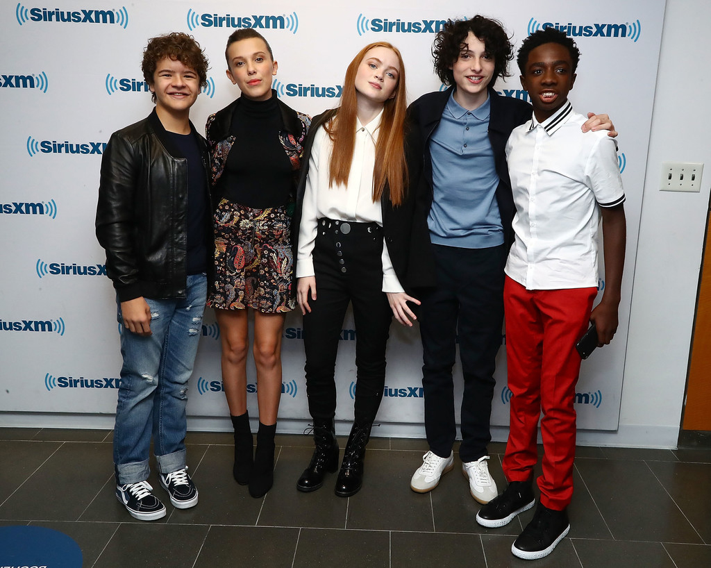 """The Ridiculously Stylish Young Cast of """"Stranger Things ..."""