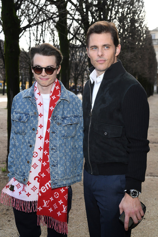 Louis Vuitton Menswear Fashion Show in Paris